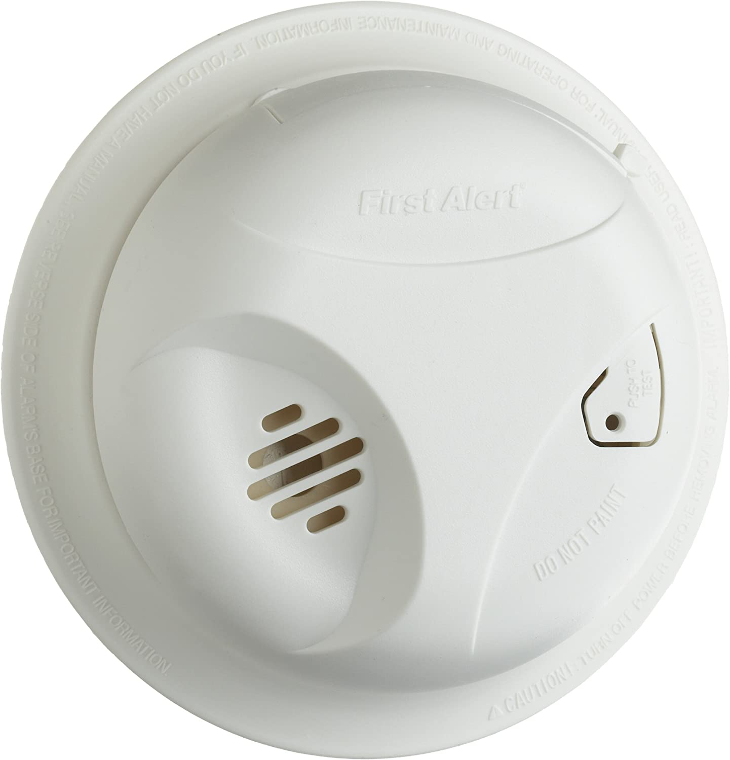 First Alert Sa300cn3 Smoke Alarm With Test Button Smoke