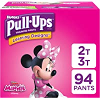 Pull-Ups Learning Designs Potty Training Pants for Toddler Girls, 2T-3T (18-34 lb.), 94 Ct. (Packaging May Vary)