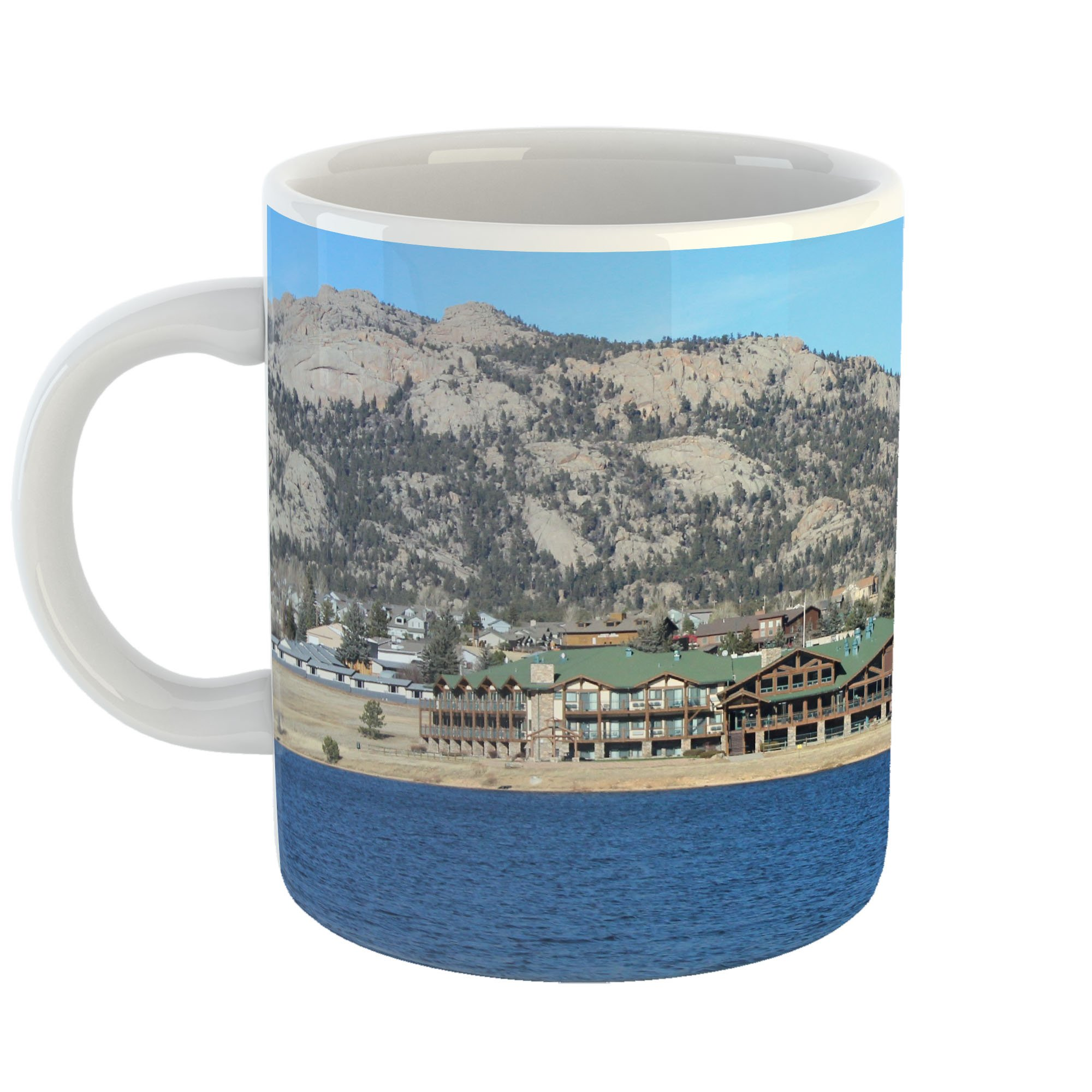 Westlake Art - Estes Hotel - 11oz Coffee Cup Mug - Modern Picture Photography Artwork Home Office Birthday Gift - 11 Ounce (AE49-38448)