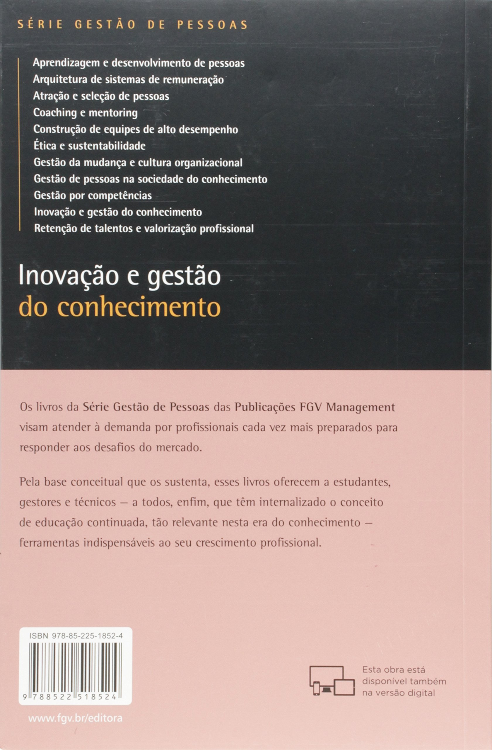 Inovação e Gestão de Conhecimento (Em Portuguese do Brasil): Vários Autores: 9788522518524: Amazon.com: Books