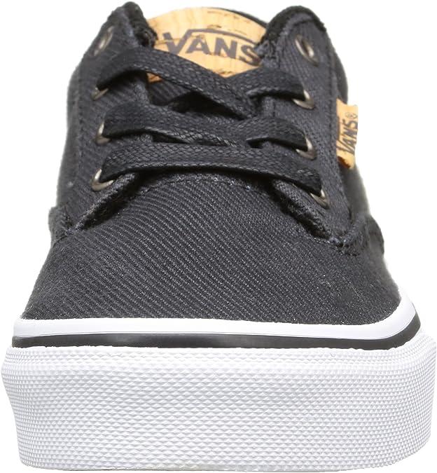 Vans - Winston, Zapatillas Niños, Negro (Washed Twill/Black ...