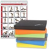 Balance Pad inkl. Workout Ideal zum Training von Gleichgewicht, Stabilität und Koordinationstraining Verschiedene Farben