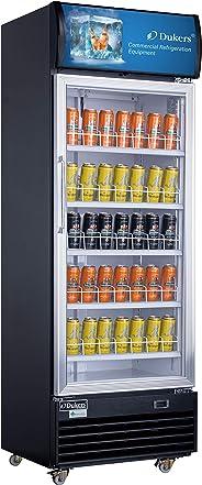 Dukers LG-430 15.1 cu. ft. Commercial Display Cooler Merchandiser Refrigerator
