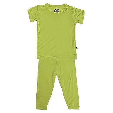 b0d5692650 Amazon.com  KicKee Pants Basic Short Sleeve Pajama Set  Clothing