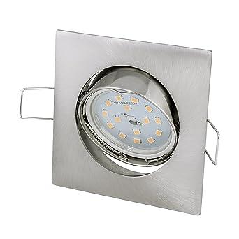 Led Einbaustrahler Set Inkl Gu10 5watt Led Leuchtmittel Warmweiss