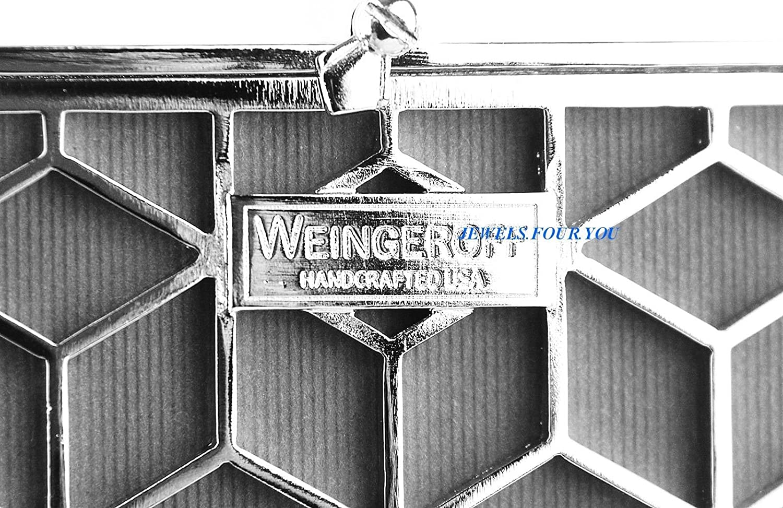 Amazon.de: weingeroff rot 4 Zeilen Emaille Rahmen 5 x 7 Swarovski ...