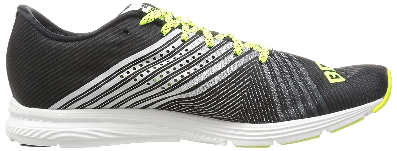 Brooks Hyperion, Chaussures de Running Homme, Noir (Black/White/Nightlife 1d083), 42.5 EU