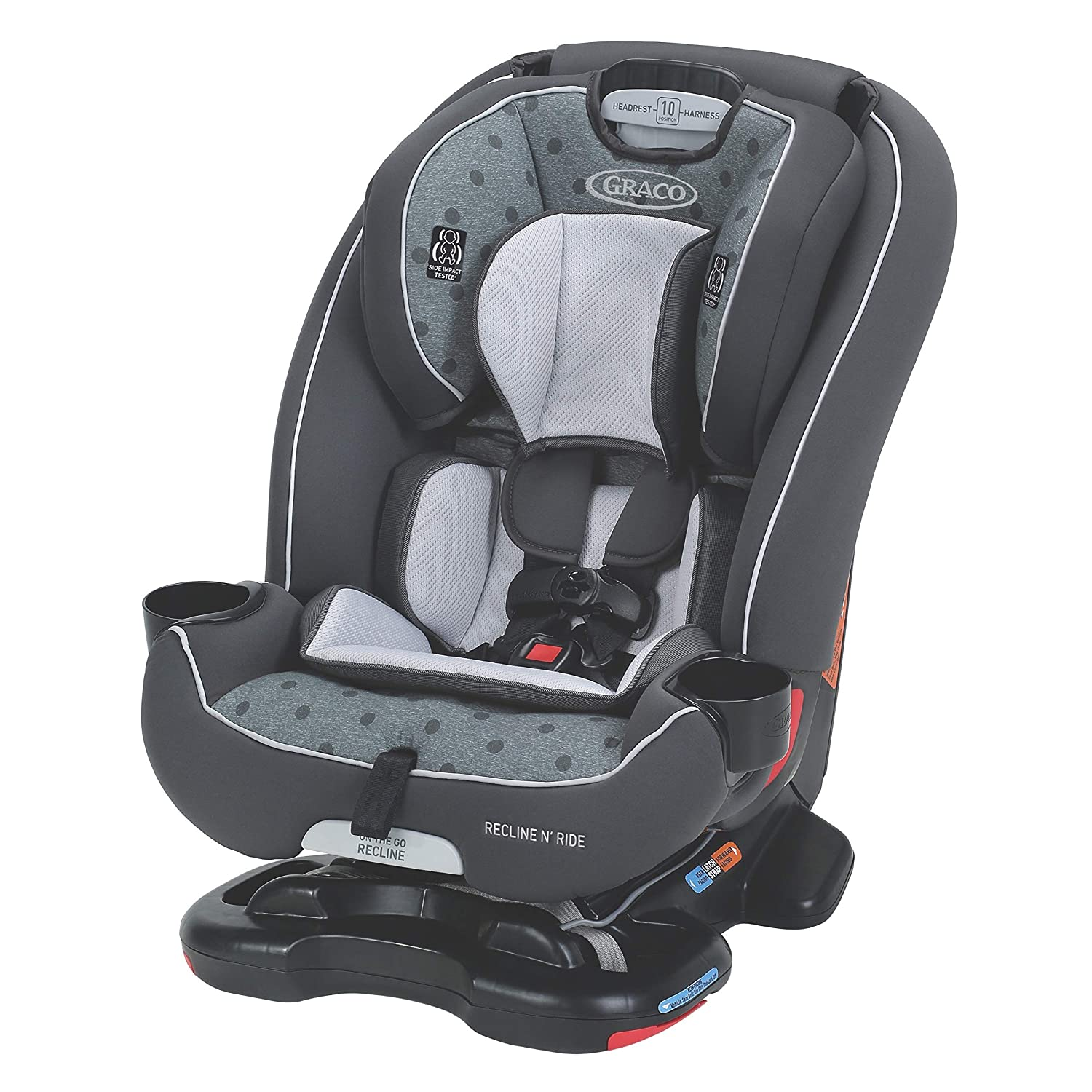 Graco Recline N Ride 3-in-1 Car Seat featuring On the Go Recline, Clifton