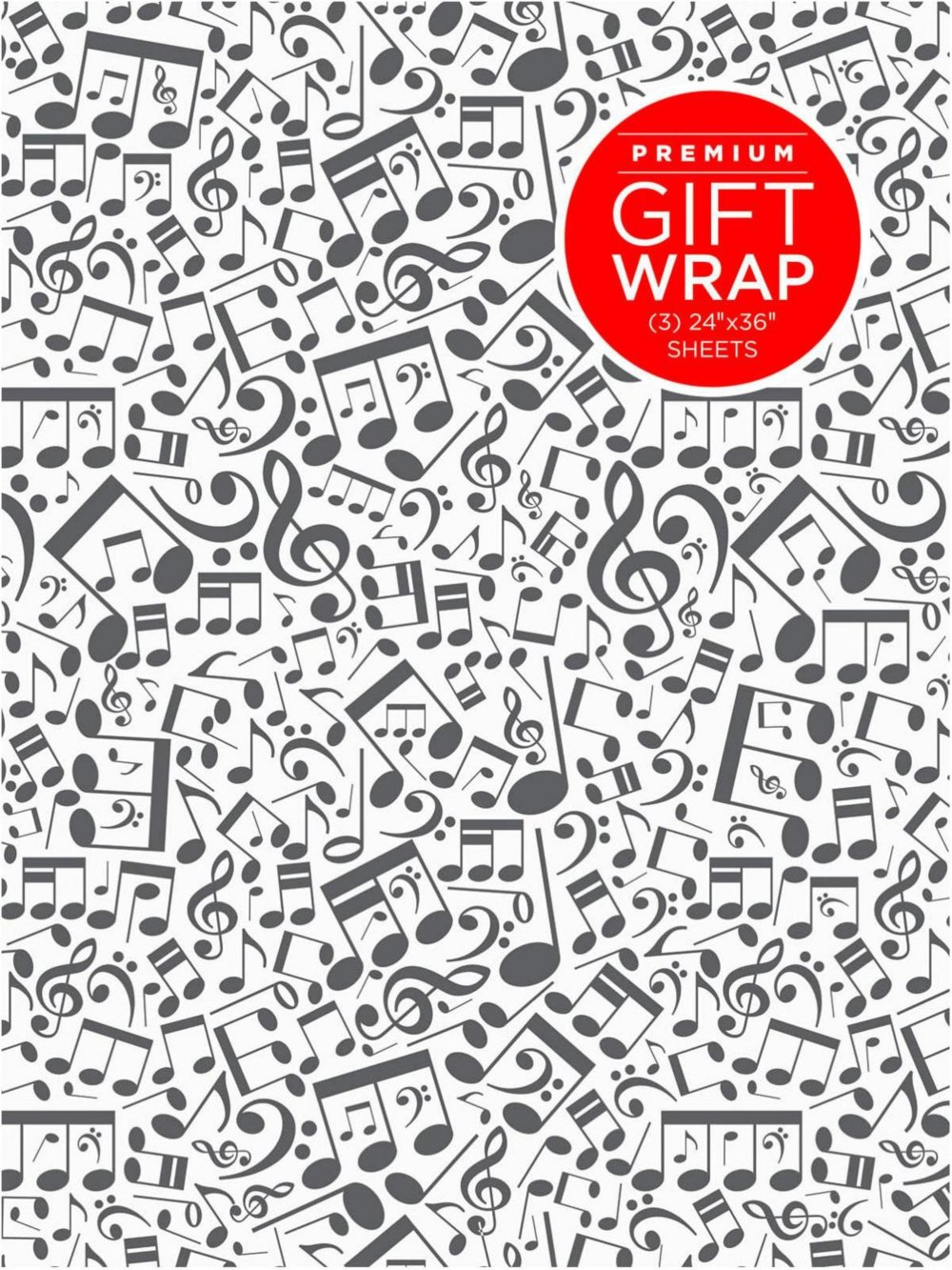 Hal Leonard Music Notes Wrapping Paper