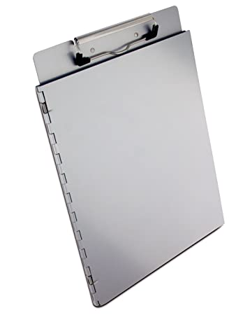 Saunders Recycled Aluminum Portfolio Clipboard U2013 Letter Size Recordkeeping  Tool With Privacy Cover. School Supplies