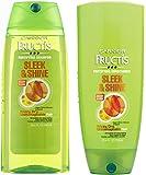 Garnier Fructis Fortifying Shampoo & Conditioner Set, Sleek & Shine, 25.4 Fl. Oz. Each