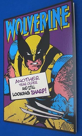 wolverine birthday Wolverine Birthday Card: Amazon.co.uk: Toys & Games wolverine birthday