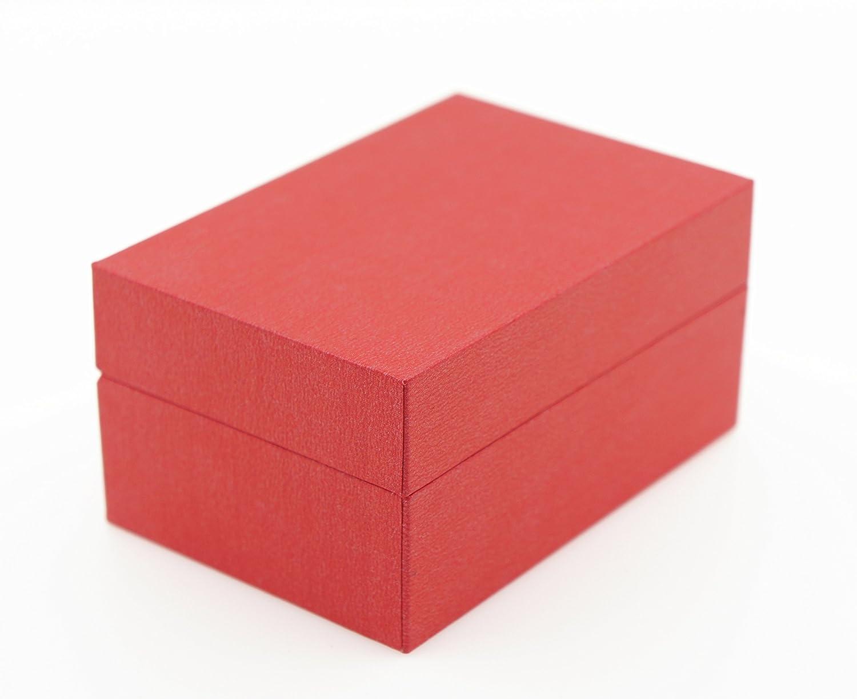 Anillo Alianzas De Funda ehringe Caja de alta calidad anillo de caja Caja para anillo de boda anillos de compromiso/San Valentín/rojo Rose: Amazon.es: ...