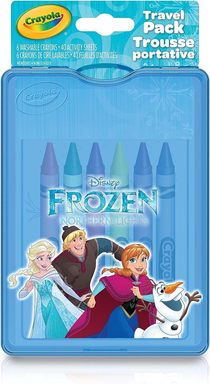 Crayola Disney Frozen Travel Pack: Amazon.es: Juguetes y juegos