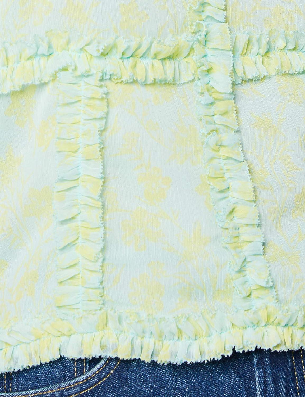 Pepe jeans kvinnor Tina-blus Flerfärgad (Multi 0aa)