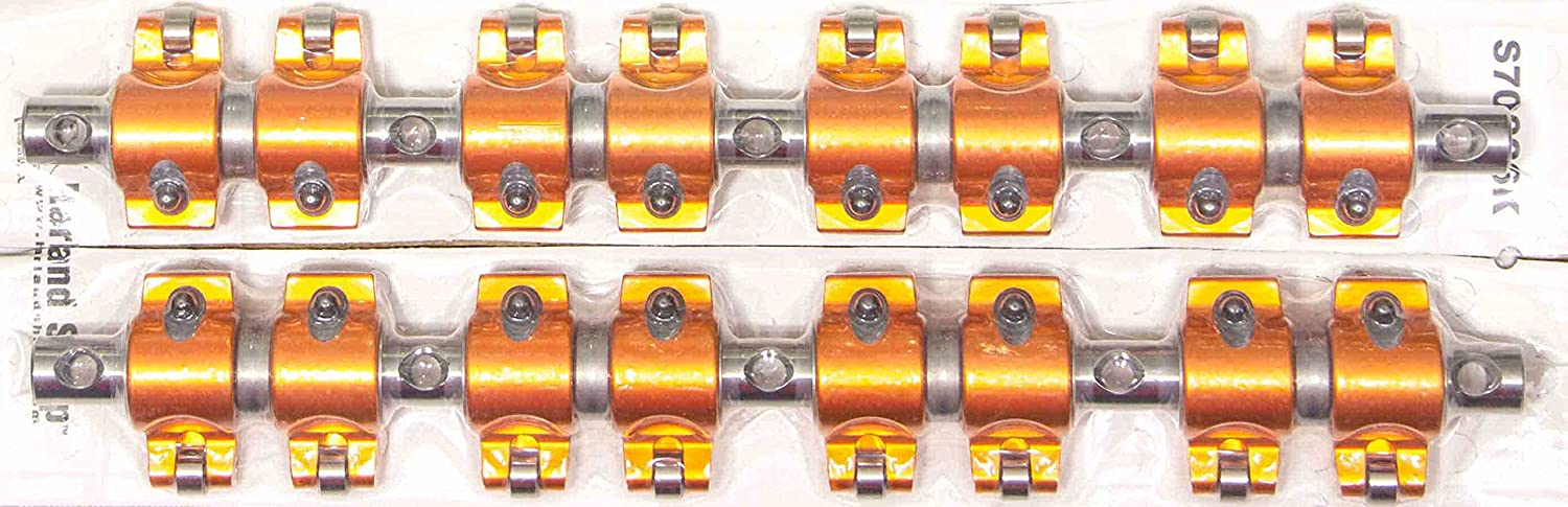 Harland Sharp (S70026K) 1.6:1 Ratio Rocker Arm and Shaft Kit for Small Block Mopar