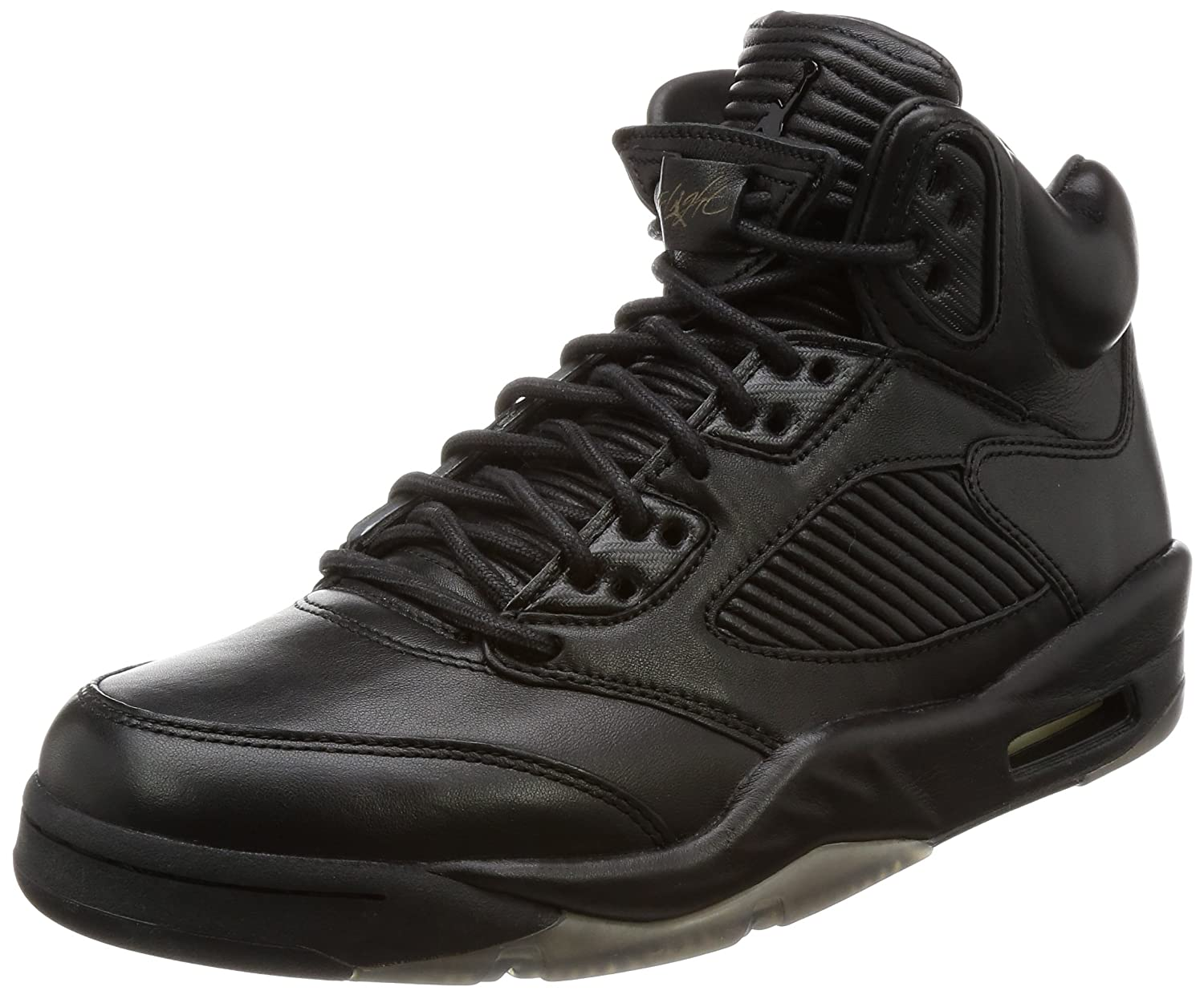 info for ca02c 0da0f Amazon.com | Nike Mens Air Jordan 5 Retro Premium Noir/Noir ...