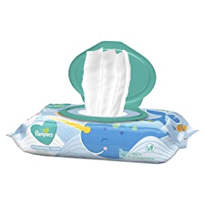 Pampers Baby Wipes Complete Clean Baby Fresh Scent 1X Pop-Top 72 Count