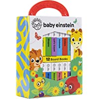 Baby Einstein - My First Library Board Book Block 12-Book Set - PI Kids (Baby Einstein (Board Books))