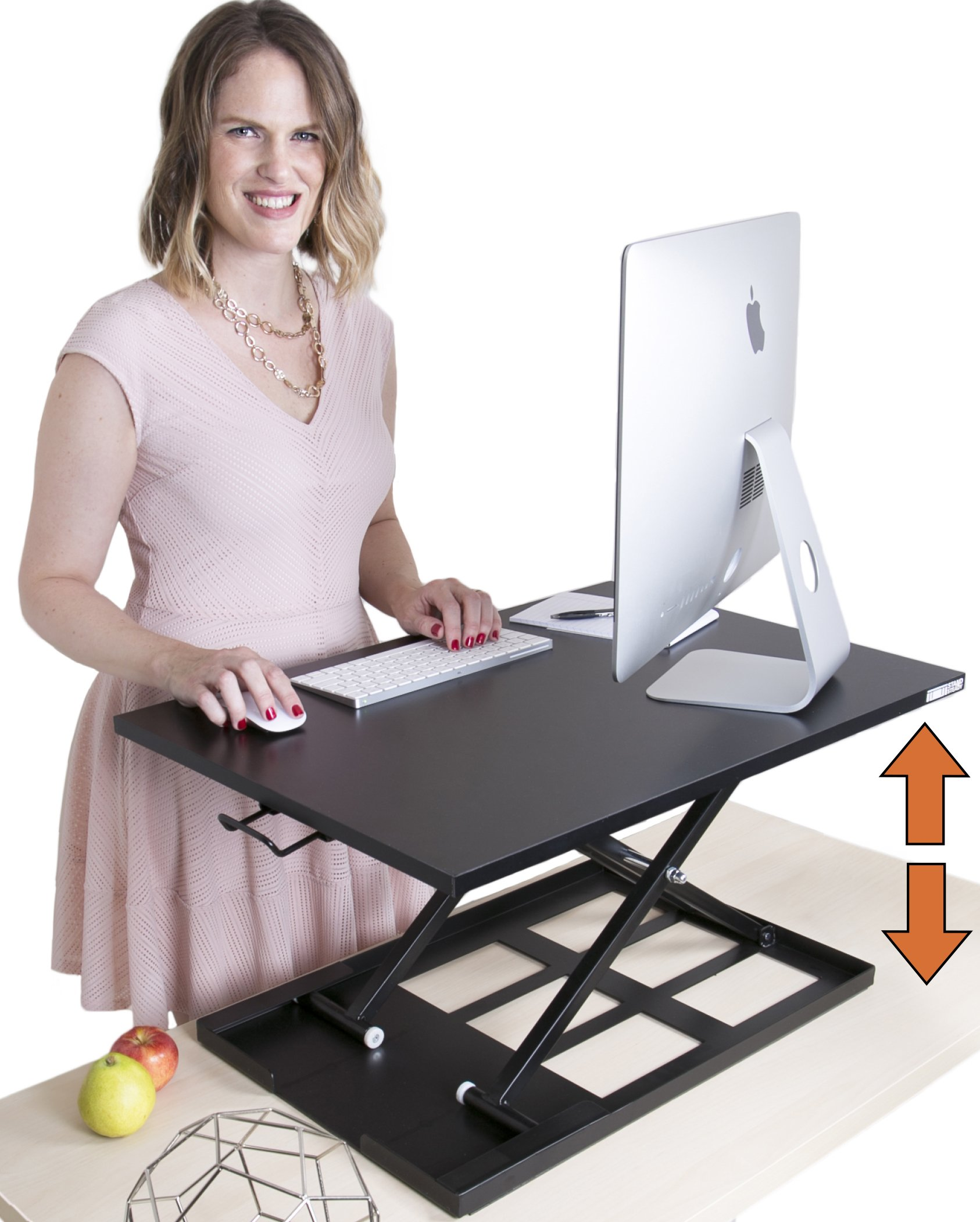 Miraculous Details About Stand Steady X Elite Pro Standing Desk Instantly Convert Any Desk Into A Si Home Remodeling Inspirations Gresiscottssportslandcom