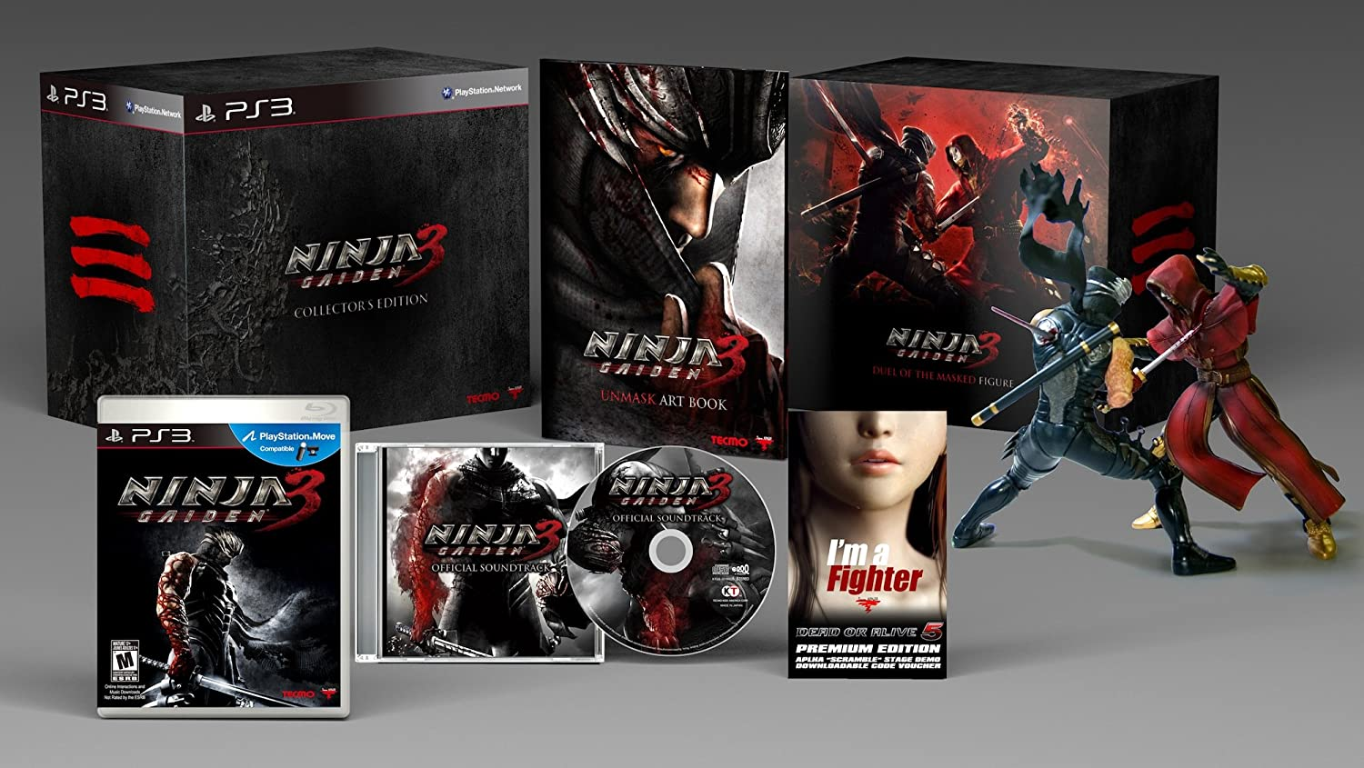 Amazon Com Ninja Gaiden 3 Collector S Edition Video Games
