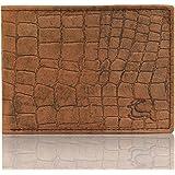 Leaderachi Brown 100% Genuine Leather Croco Wallet