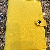 Amazon.com: Cubierta para carpetas de fieltro A6, rellenable ...