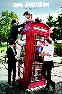 """Trends International One Direction - Take Me Home Wall Poster, 22.375"""" x 34"""", Premium Unframed"""
