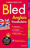Bled Vocabulaire Anglais