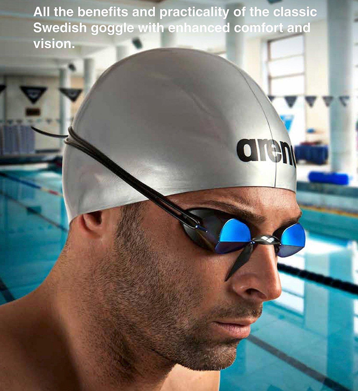eb12d54e26a1 Amazon.com   arena Swedix Mirror Race Swim Goggles