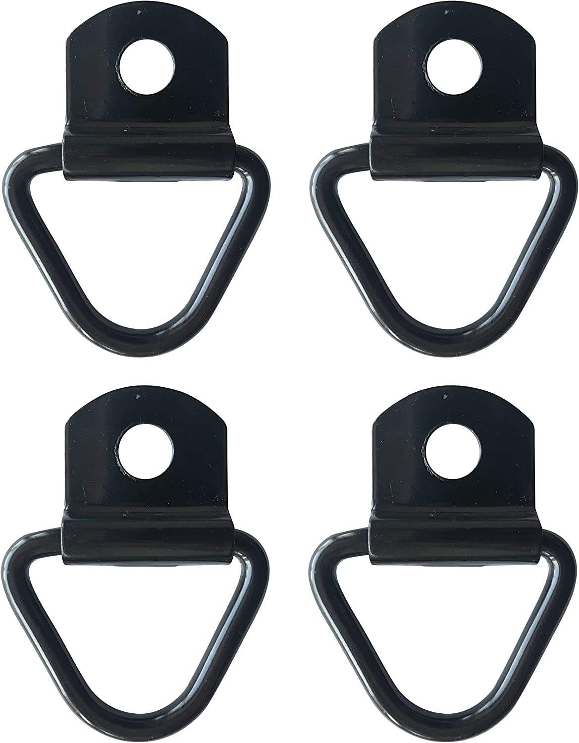 Set of 4 2 D-Ring Bolt On Truck Pick Up Bed Cargo Tie Down Strap Hook