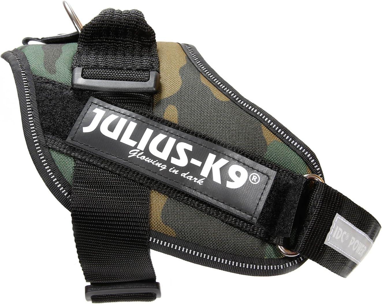 Julius-K9 IDC-Power Harnais pour Chien Camouflage Arm/ée Taille 0