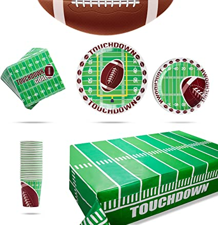 Amazon.com: Suministros de decoración temática de fútbol ...