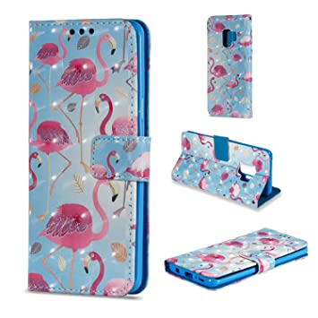 Livret De Conception Flamant Rose Pour Samsung Galaxy S, Plus S9