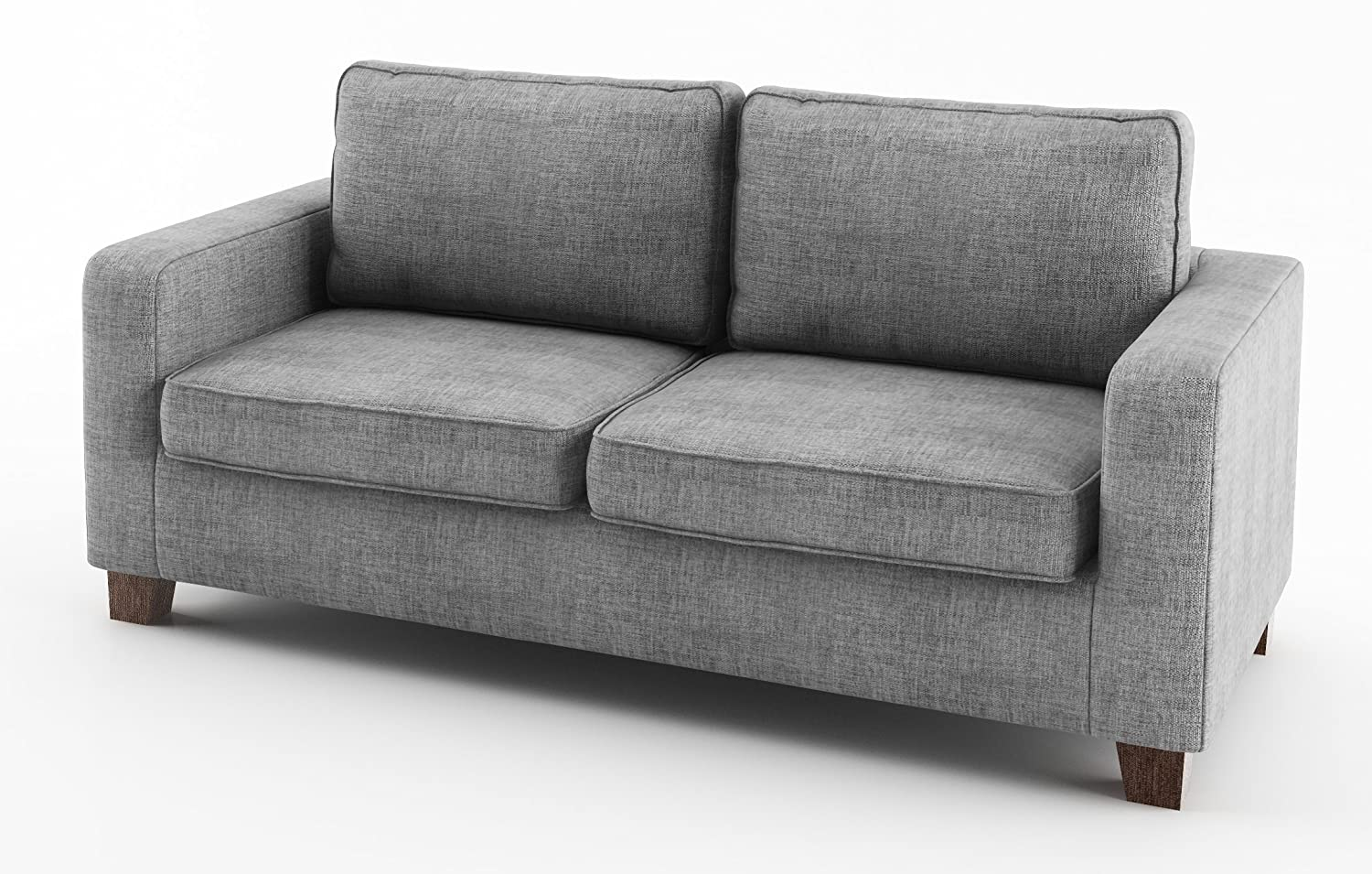 c0f188d2dcd4ad Sofabella Pippa 3-Seater Sofa with Fabric, 182 x 82 x 83 cm, Grey:  Amazon.co.uk: Kitchen & Home