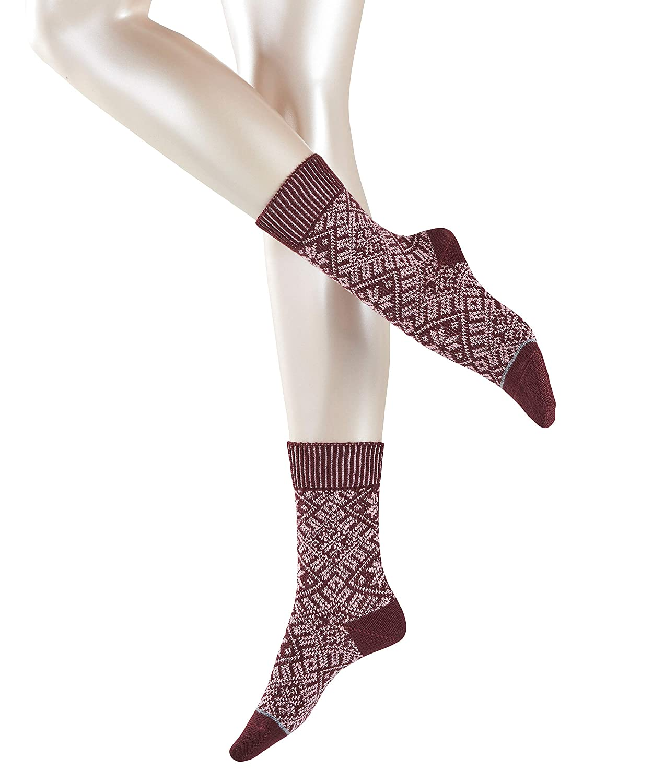Blickdicht ESPRIT Damen Norwegian Boot Socken