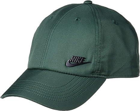 Nike Gorra Heritage86 Gorra Verde Ajustable: Amazon.es: Ropa y ...