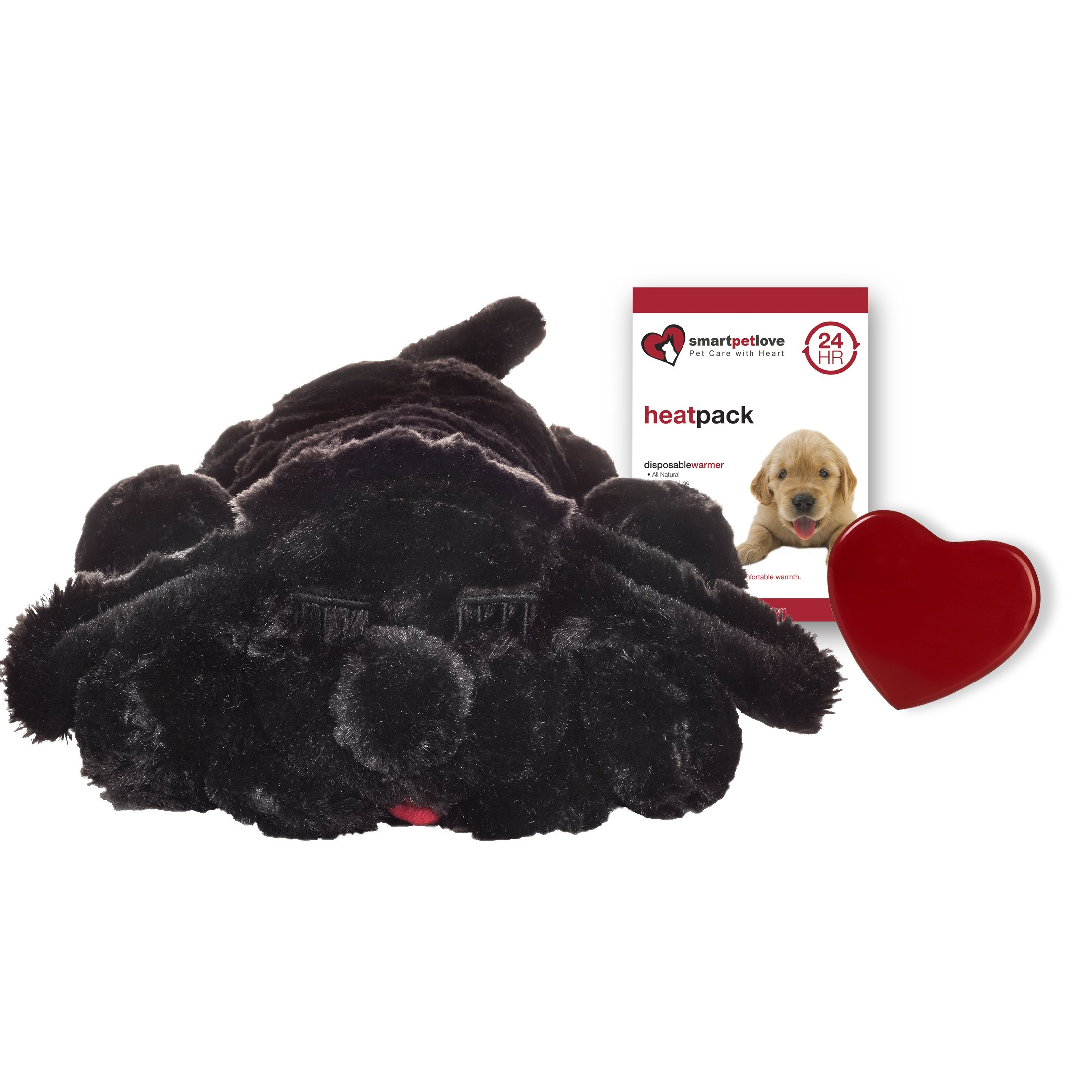 Smart Pet Love Snuggle Puppy Behavioral Aid Toy, Black Lab
