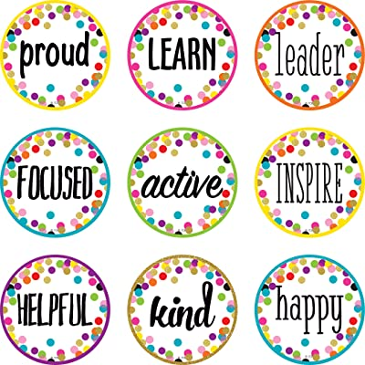 Confetti Positive Words Mini Accents: Office Products