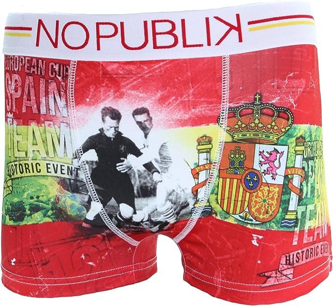 No Publik – Euro 2016 Boxer niño – España Multicolor Multicolor: Amazon.es: Ropa y accesorios