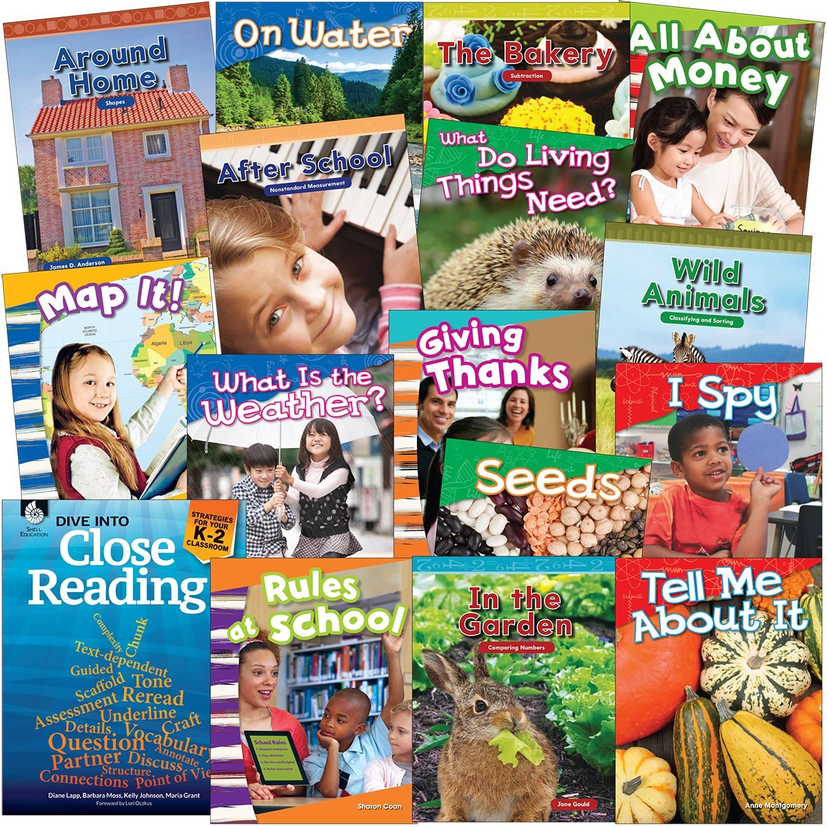 Kindergarten Dive into Close Reading Set