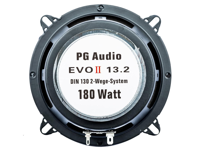 Lautsprecher T/ür Vorne Dacia Sandero,Logan PG Audio 13 cm Coax 2-Wege-Koax