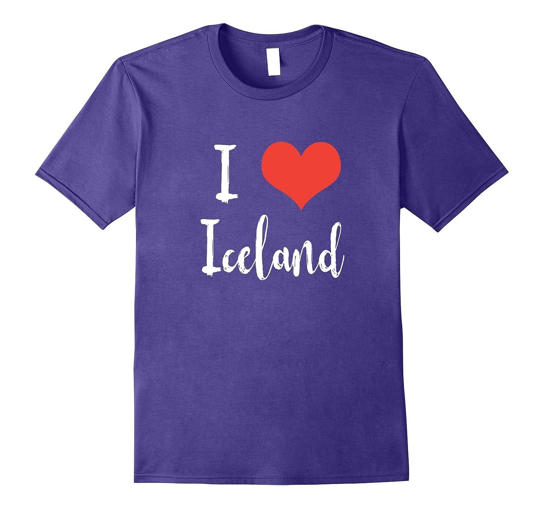 I love Iceland T-shirt-BN