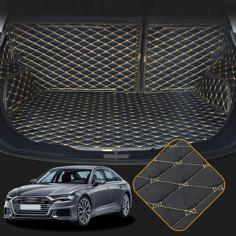 Geriffelte Kofferraumwanne für Audi A6 C7 4G Facelift Avant Kombi 5-türer 2014-3