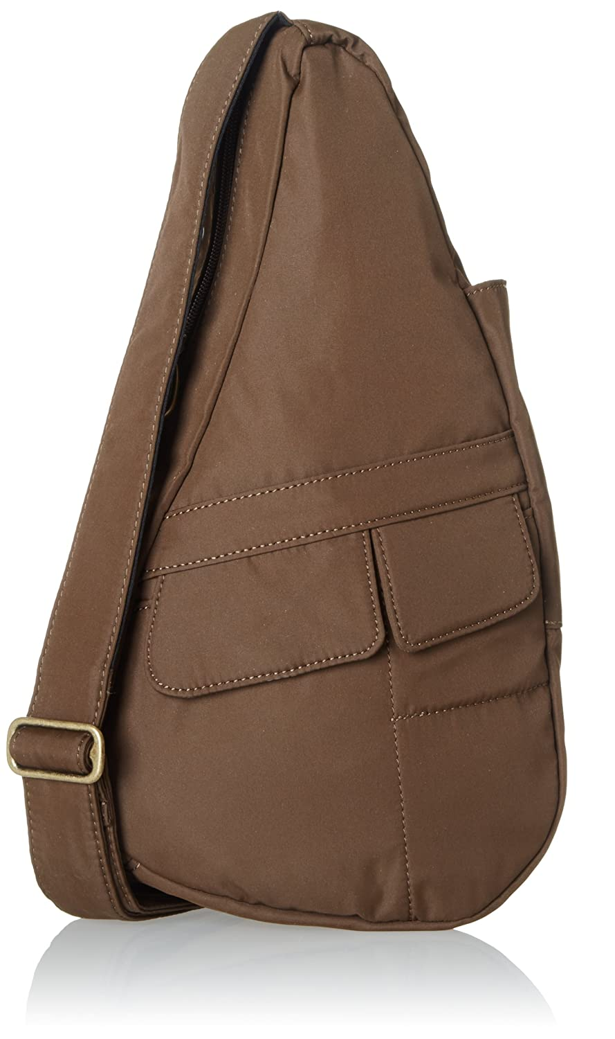 AmeriBag X-Small Microfiber Healthy Back Bag Tote Taupe one Size 7102-TP