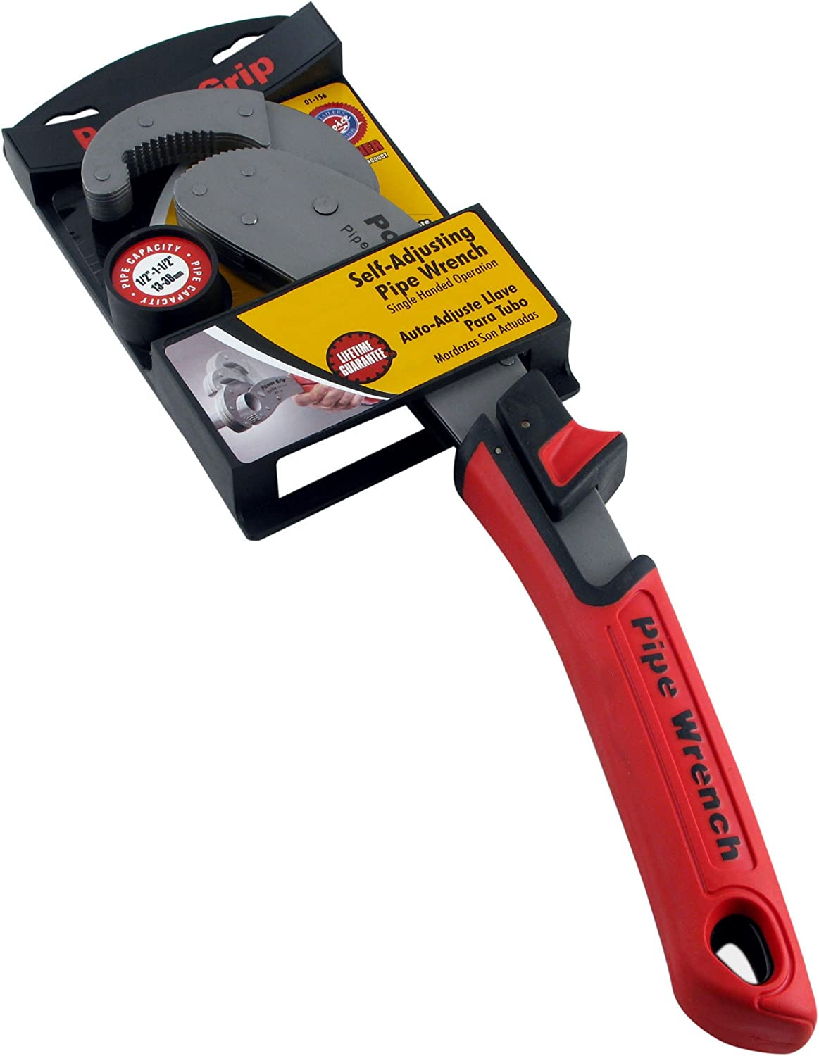 Olympia Tools 01-156 14-inch Power Grip Pipe Wrench