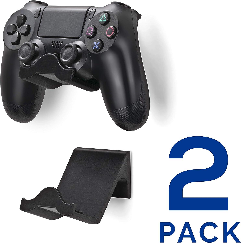 Brainwavz Ps4 Game Controller Wandhalterung Ständer Halterung 2 Stück Playstation 4 Game Controller Zubehör Computer Zubehör