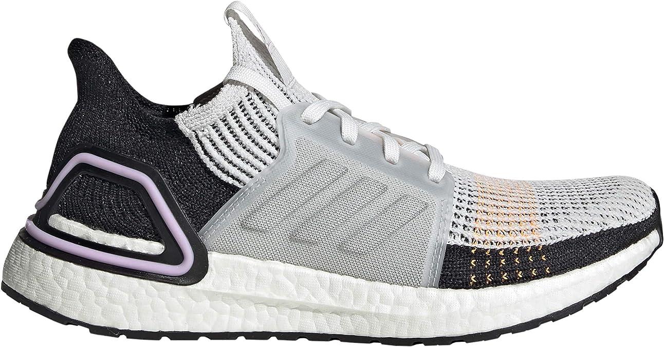 Adidas Ultraboost 19 Zapatilla para Correr en Carretera o Camino de Tierra Ligero con Soporte Neutral para Hombre Negro Blanco: Amazon.es: Zapatos y complementos