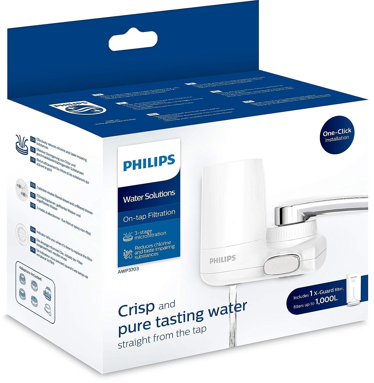 Philips AWP3703 X-Guard On Tap Wasser-Filter Trinkwasser-Filter f/ür Wasserh/ähne