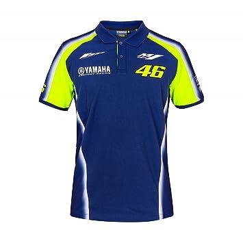 VR46 Valentino Rossi Yamaha Factory Racing Team Polo para Hombre Camiseta 46 m1yzr MotoGP: Amazon.es: Deportes y aire libre